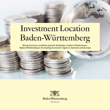 Overview Investment Location Baden-Württemberg