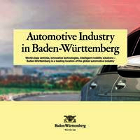 Overview Automotive Industry Baden-Württemberg