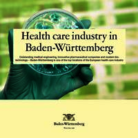 Overview Health Care Industry Baden-Württemberg