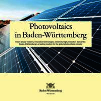 Overview Photovoltaic Baden-Württemberg